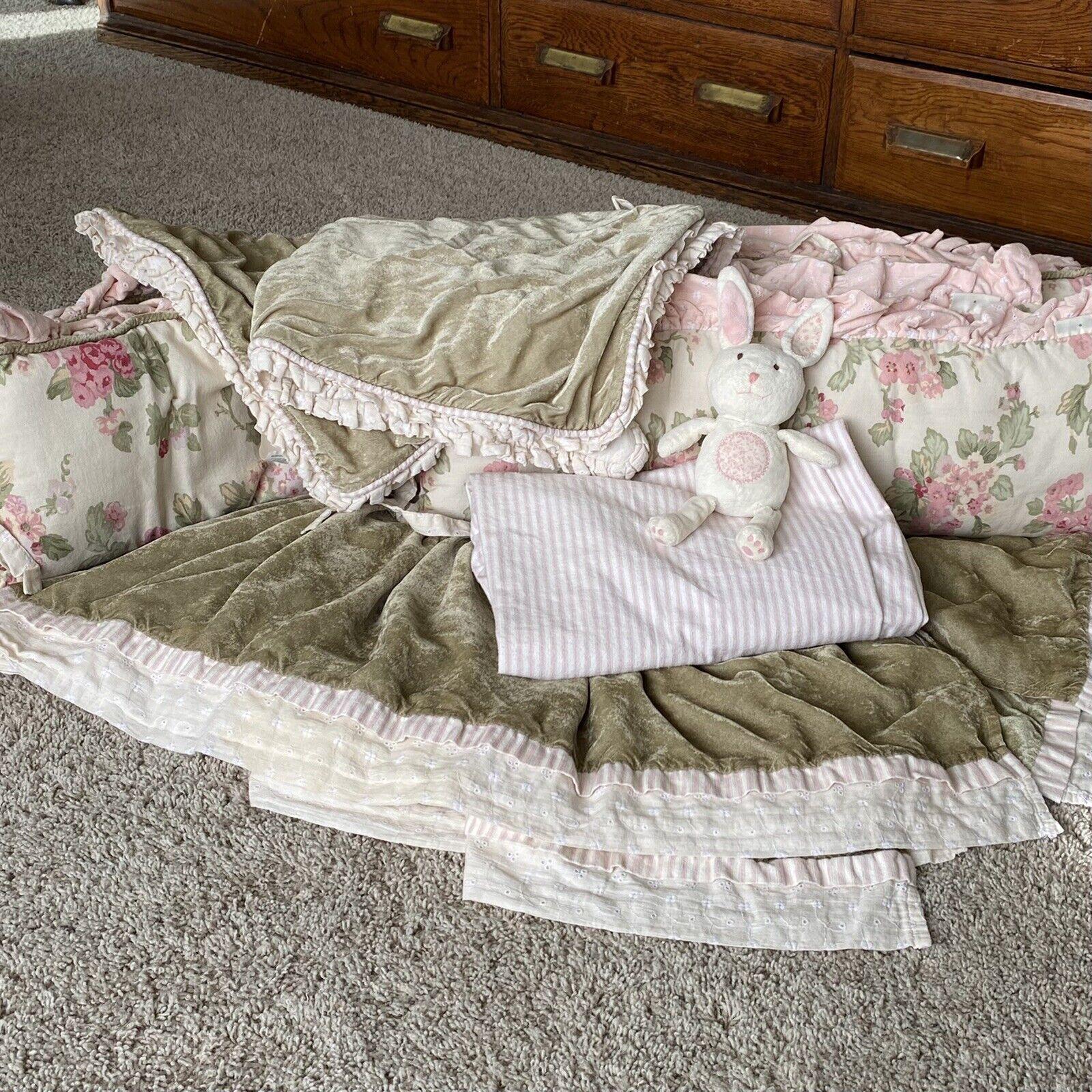 wendy bellissimo vintage teaberry crib bedding bed set