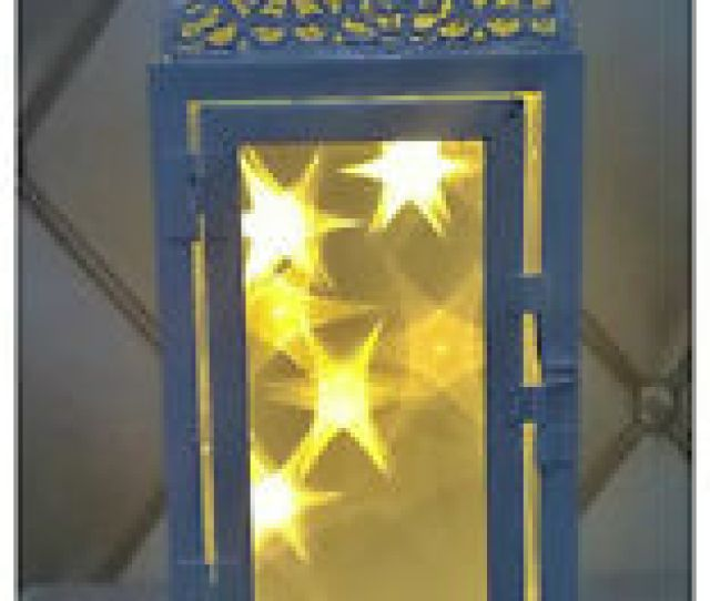 Image Is Loading Warm White Led Moroccan Lantern Christmas Lights Decoration