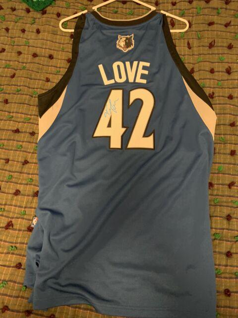 Kevin Love SIGNED Minnesota Timberwolves Jersey Stitched ...