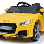 Audi Tt Rs 6v Battery Powered Ride On Children Sound Red Car Electric Uk For Sale Ebay