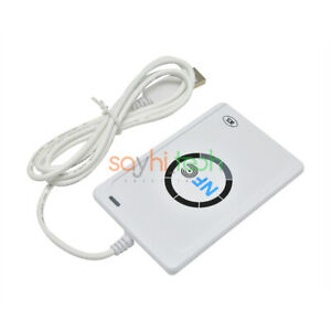 USB Smart ACR122U NFC RFID Contactless Reader & Writer ...