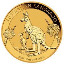 Goldmünze Känguru 2020 50 Dollar Australien 1/2 oz in Stempelglanz