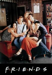 details zu friends tv show poster print sitting on couch size 27 x 40