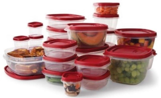Rubbermaid Easy Find Lid BPA-FREE Plastic Food Storage Containers Set 50 Pc. 2