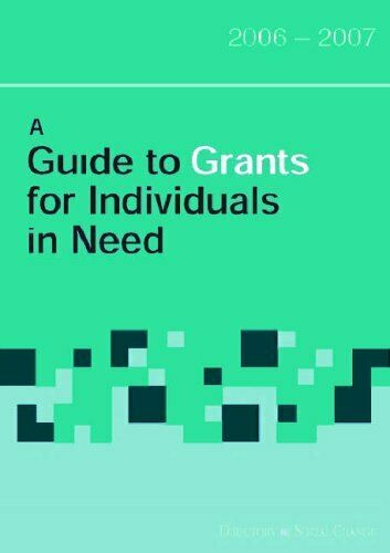 A Guide to Grants for Individuals in Need (Guide to Grants ...