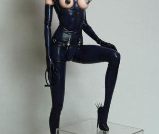 Sorayama Latex Doll Statue   Black Ver Yamato Fantasy Figure Gallery New