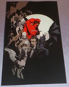 FREE COMIC BOOK DAY 2008~COVER ART PRINT~MIKE MIGNOLA~HELLBO