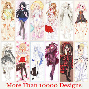 details about custom made anime dakimakura hugging body pillow case cover personalized