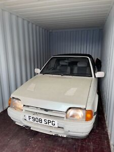 Ford escort xr3i convertible Project/barn find