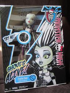 Monster High Doll Lights Up Electrical Volt Sounds Frankie Stein Skeleton Glows Ebay