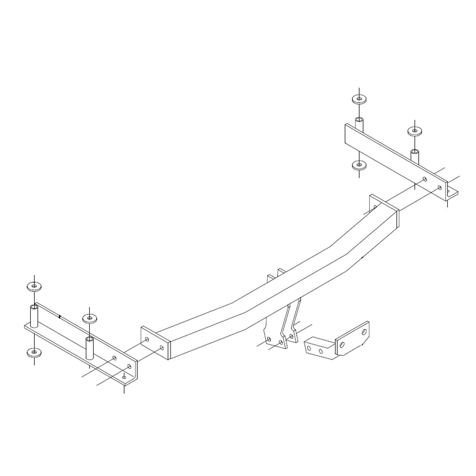 Pct Towbar For Audi A4 4 Door Saloon