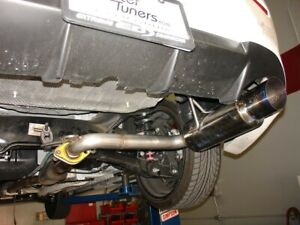 injen ses axle back exhaust system for