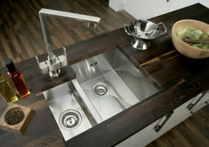 details about square 1 5 bowl kitchen sink modern 1 2mm thick stainless steel 18 10 undermount