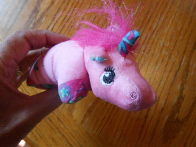 mini pillow pets lil unicorns pink plush stuffed animal 6 toy
