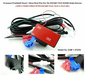 1 Permanent Windshield MountDirect Hard Wire For The