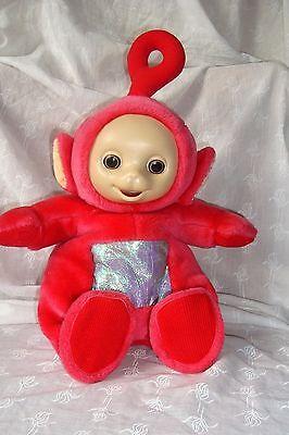 peluche doudou sonore po teletubbies 25 cm environ tomy 1996 ebay