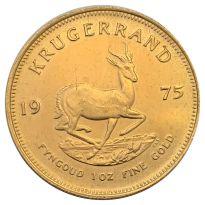 Goldmünze Krügerrand verschiedene Jahrgänge 1 oz mit Einkerbungen und Dellen