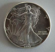 KI64) 10x Liberty 1 oz Unze SILBER, unterschiedliche Jahrgänge