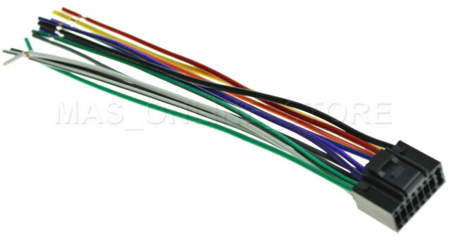 wire harness for jvc kdr330 kdr330 pay today ships today
