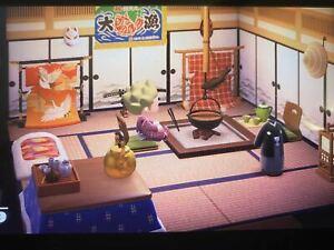 ANIMAL CROSSING NEW HORIZONS Japanese Room Furniture Set ... on Animal Crossing New Horizons Living Room  id=24339