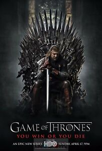 details zu poster a3 game of thrones ned stark game of thrones serie poster 01