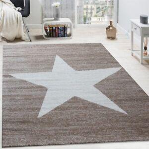 Large Star Rug Beige Teens Bedroom Trend Carpet Mottled in ... on Beige Teen Bedroom  id=47591