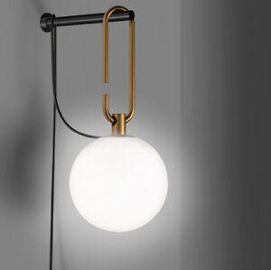 Al 50% in meno su applique moderne e lampade da parete dal design moderno. Artemide Nh Wall Lampada Da Parete Design Neri Hu Ebay