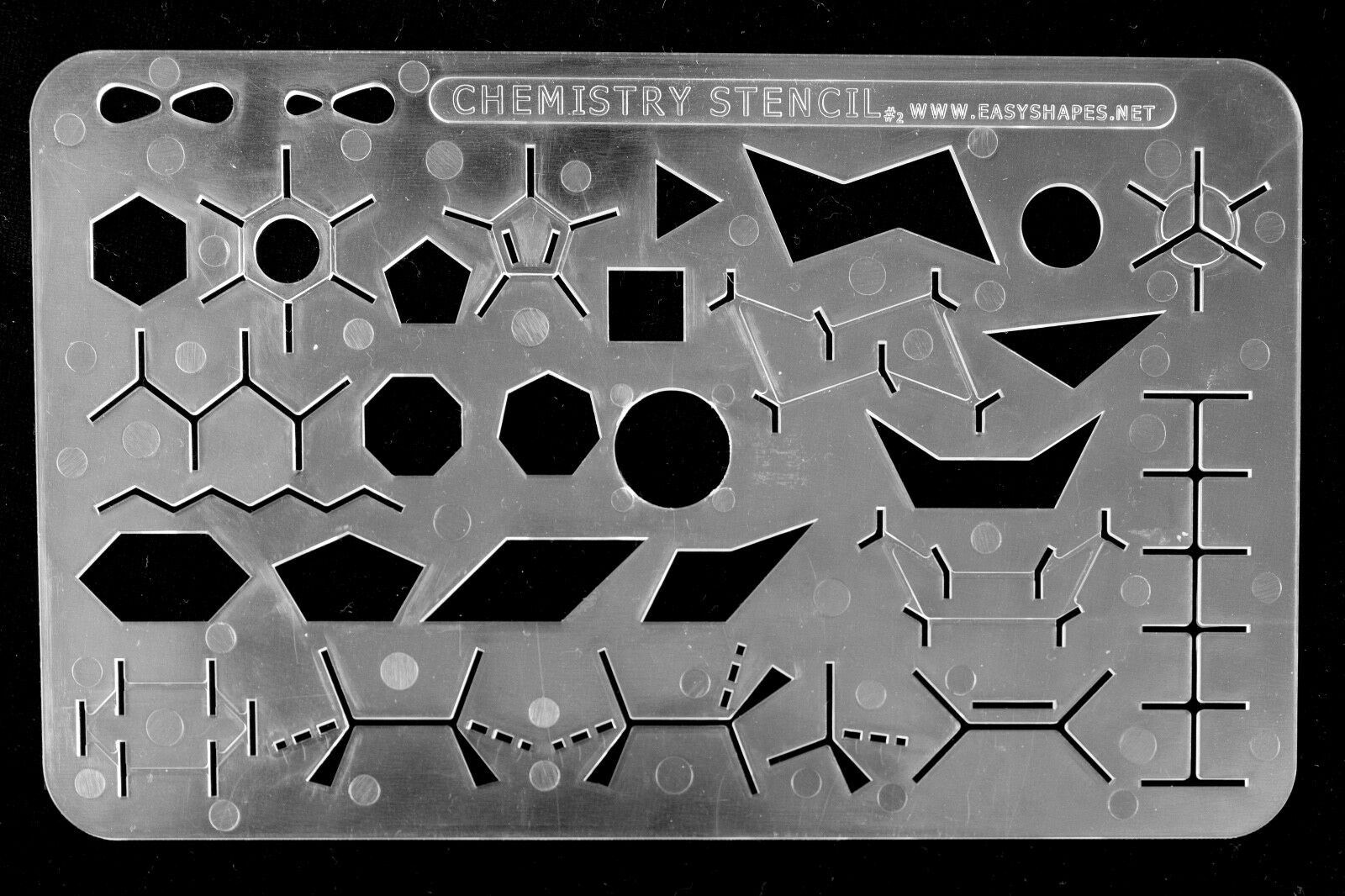Organic Chemistry Stencil Drawing Template Art Supplies