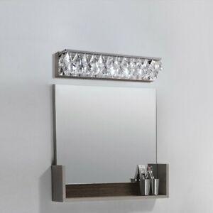 Modern LED Crystal Wall Sconce Bath Vanity Light Indoor ... on Modern Indoor Wall Sconce id=80256