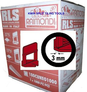details about raimondi tile levelling system base clips 3mm wide