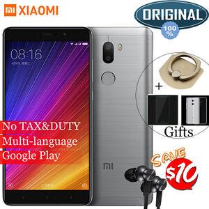 "Original 5.7"" Xiaomi Mi5s Plus Mi 5S 6GB 128GB Smartphone Snapdragon 821 Unlock"
