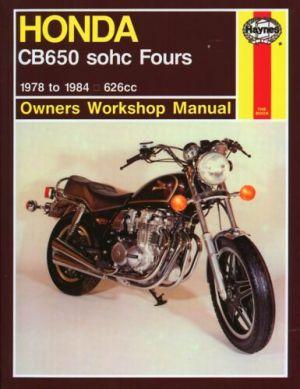 19781984 Honda CB650 CB 650 CB650F Night Hawk Nighthawk HAYNES REPAIR MANUAL | eBay