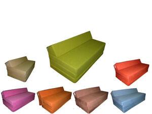 Matelas Lit Futon Sofa Pliable Pliant 200x120x10 Cm Chauffeuse 2 Place Ebay