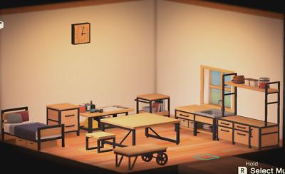Ironwood Furniture Set New Horizons - FurnituresWeb on Ironwood Furniture Animal Crossing  id=27746