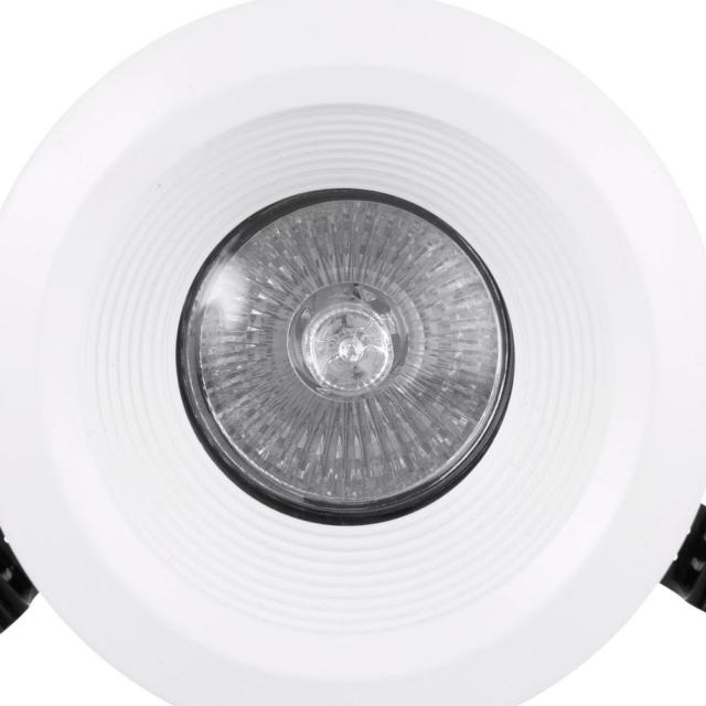 lithonia lighting lk3bmw led m4 1 light recessed baffle kit matte white
