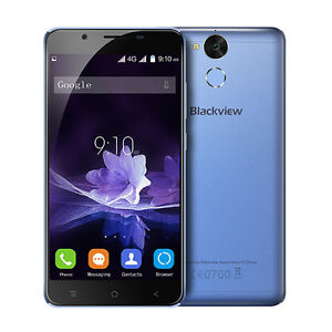"Blackview 6000mAH P2 5.5""FHD LTE Android 6.0 Mobile Smartphone 4GB/64GB Touch ID"