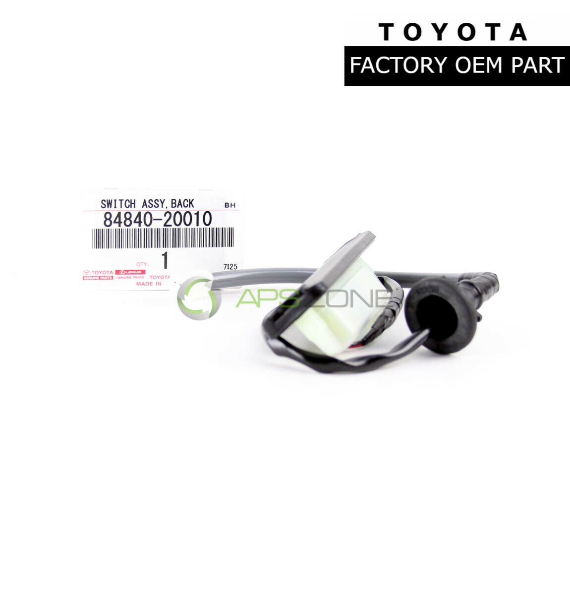 Genuine Toyota Camry Rear Trunk Lid Switch