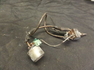 1988 HONDA GL1500 GOLDWING STARTER SOLENOID AND SWITCH