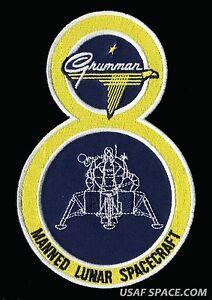 GRUMMAN LM 8 APOLLO 14 LUNAR MODULE ANTARES 6 14quot AB EMBLEM SPACE PATCH eBay