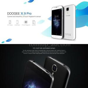 5.5'' HD DOOGEE X9 Pro Smartphone 4G Quad Core Android 6.0 16GB Dual SIM S8T1