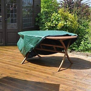 Large Oval Waterproof Patio Set Winter Cover for Garden ... on Patio Cover Ideas For Winter id=22908
