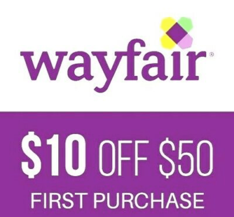 off  Wayfair coupon for NEW Customers–FAST Online Delivery!