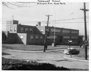 Old Photo. Hyde Park, MA. Fairmount School Building   eBay