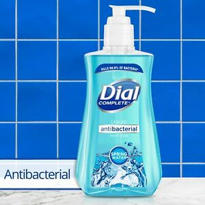 Dial Liquid High Quality Hand Soap Kills 99.9% of germs and bacteria 9.375 oz