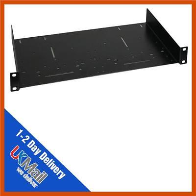 1u 19inch rack shelf 250mm 9 8 deep music equipment servers ebay