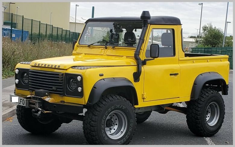 Land Rover Defender 90 200tdi 1993 Galvanised Chassis