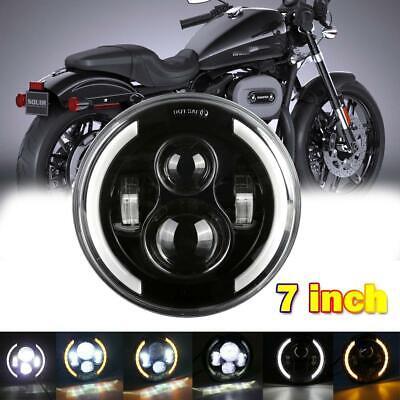 7 Cree Led Round Headlight Motorcycle