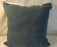 chambray denim oversize square throw pillow blue threshold