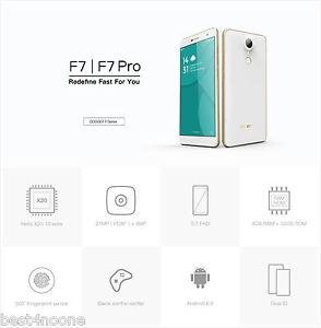 5.7'' DOOGEE F7 Pro 4G Smartphone Deca Core 4G/32G 21MP Type-C Fingerprint OTG