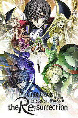 posters usa code geass lelouch of resurrection movie poster glossy mcp975 ebay